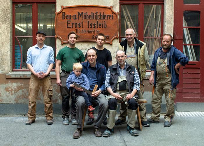 Tischlerei Ißleib, Mitarbeiter, Berlin, Lützowstraße 93