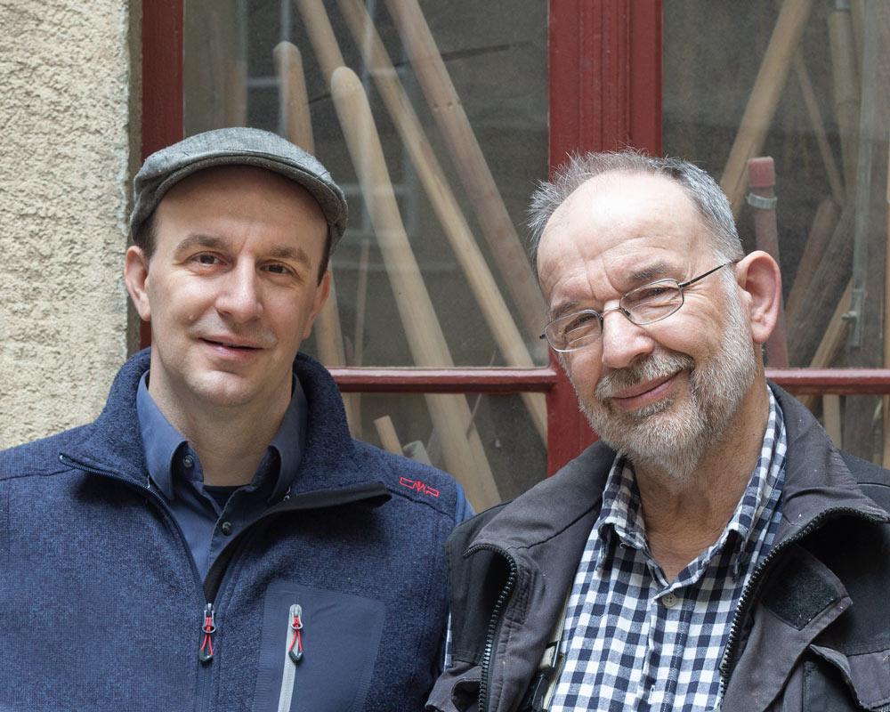 Ernst Helmut Ißleib und Imanuel Ißleib