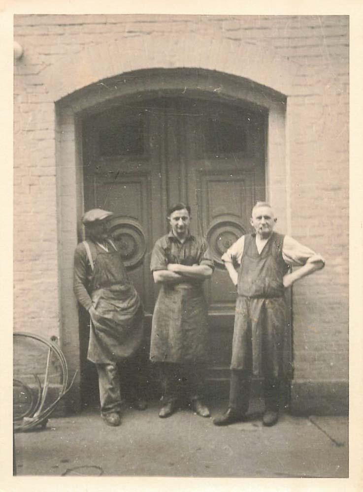 historische Bilder der Tischlerei Ißleib