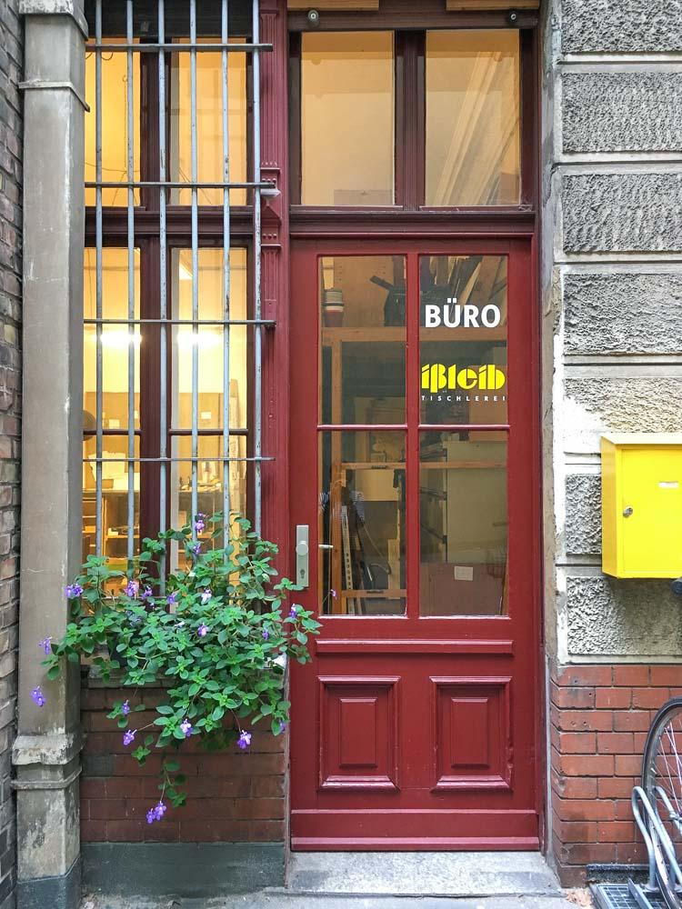 Lützowstr, Berlin, Büro, Hinterhof