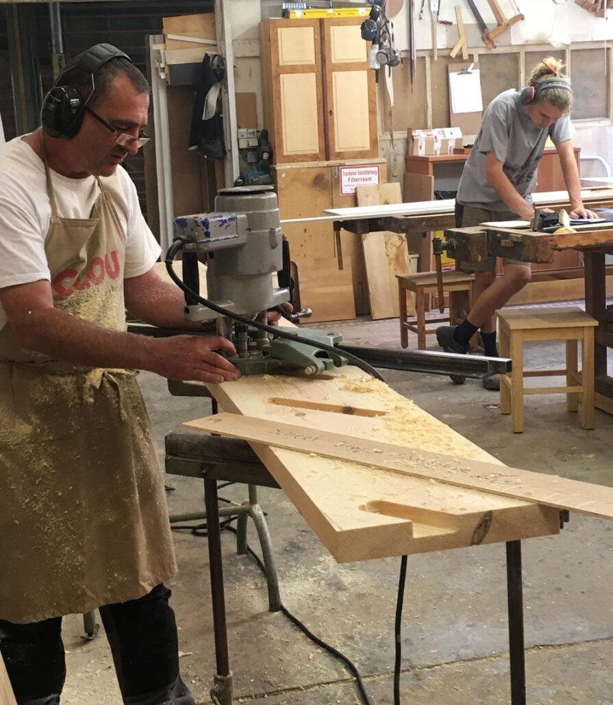 Tischlerarbeit, Schreinern, Tischlern, Treppenanfertigung